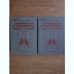 DIAGNOSTICUL SI TRATAMENTUL BOLILOR INTERNE - ST.SUTEANU  2 VOLUME