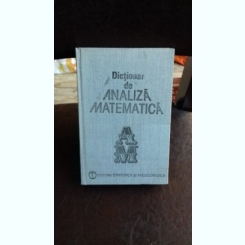DICTIONAR DE ANALIZA MATEMATICA - CRISTESCU R.