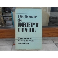 Dictionar de drept civil , Mircea Costin