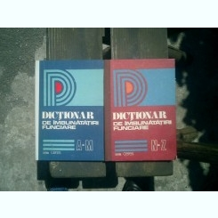 Dictionar de imbunatatiri funciare 2 volume - Boeru Spiridon, Botzan Marcu, Brasoveanu Gheorghe