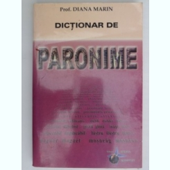 Dictionar de paronime - Diana Marin