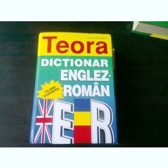 DICTIONAR ENGLEZ ROMAN, 70 000  CUVINTE - LEON LEVITCHI