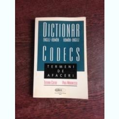 DICTIONAR ENGLEZ-ROMAN, ROMAN-ENGLEZ, TERMENI DE AFACERI - TATIANA CHERA