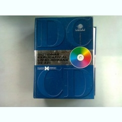 DICTIONAR EXPLICATIV AL LIMBII ROMANE DE AZI - ELENA COMSULEA  (CU CD)
