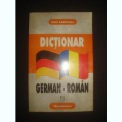DICTIONAR GERMAN ROMAN - IOAN LAZARESCU