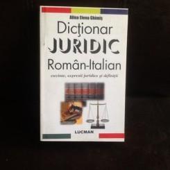 Dictionar juridc Roman-Italian - Alina Elena Ghimis