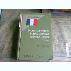 DICTIONAR JURIDIC ROMN FRANCEZ FRANCEZ ROMAN - DIANA DANISOR