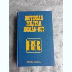 DICTIONAR MILITAR ROMAN RUS - CHECICHES LAURENTIU