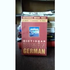 DICTIONAR ROMAN GERMAN - E. SAVIN