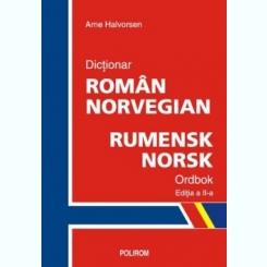 DICTIONAR ROMAN NORVEGIAN - ARNE HALVORSEN