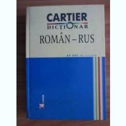 DICTIONAR ROMAN RUS - TEODOR COTELNIC