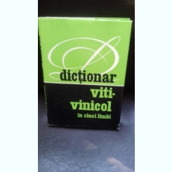 DICTIONAR VITI VINICOL IN CINCI LIMBI -