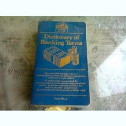 DICTIONARY OF BANKING TERMS -THOMAS FITCH  (TEXT IN LIMBA ENGLEZA)
