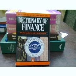 Dictionary of finance - Graham Bannock  (Dicționar de finanțe)