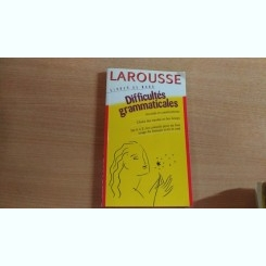 DIFFICULTES GRAMATICALES- LAROUSSE
