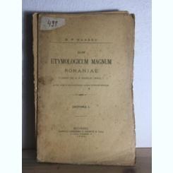 DIN ETYMOLOGICUM MAGNUM ROMANIAE - B.P. HASDEU
