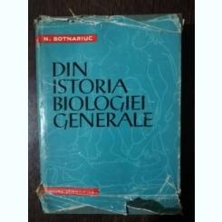 DIN ISTORIA BIOLOGIEI GENERALE- N.BOTNARIUC