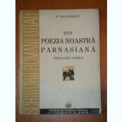 DIN POEZIA NOASTRA PARNASIANA-N.DAVIDESCU,BUC.1943