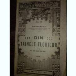 DIN TAINELE FLORILOR DE ION SIMIONESCU , NR. 12 , EDITIA A II A ,
