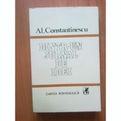 DINTR-UN JURNAL DE IDEI - AL. CONSTANTINESCU