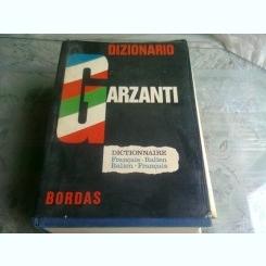 DIZIONARIO GARZANTI, DICTIONNAIRE FRANCAIS ITALIEN, ITALIEN FRANCAIS