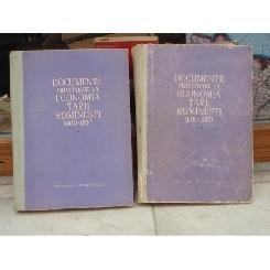 Documente privitoare la Economia tarii Romanesti 1800-1850 , Doua volume