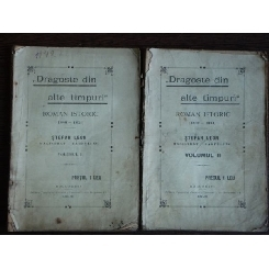 Dragoste din alte timpuri 2 volume, Stefan Leon