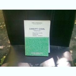DREPT CIVIL - EMIL POENARU    VOL.1