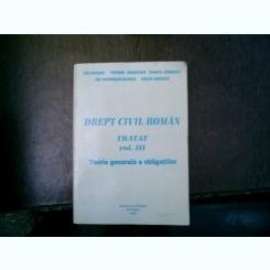Drept civil roman tratat vol. III - Ion Dogaru, Teodor Sambrian