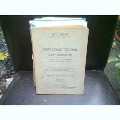 DREPT CONSTITUTIONAL SI ADMINISTRATIV - DEM. P. TOADER