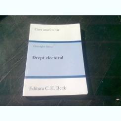 DREPT ELECTORAL. CURS UNIVERSITAR - GHEORGHE IANCU