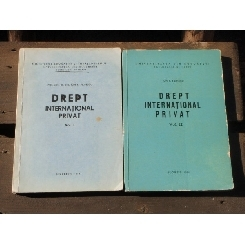 DREPT INTERNATIONAL PRIVAT - ION P. FILIPESCU 2 VOLUME