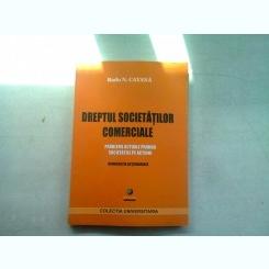 DREPTUL SOCIETATILOR COMERCIALE - RADU N. CATANA (PROBLEME ACTUALE PRIVIND SOCIETATILE PE ACTIUNI)