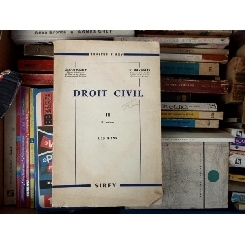 Droit Civil , Gabriel Marty , Tome II , 2eme volume , 1965