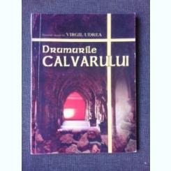 DRUMURILE CALVARULUI - VIRGIL UDREA  (CU DEDICATIA AUTORULUI)