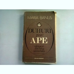 DUHURI PESTE APE - MARIA BANUS