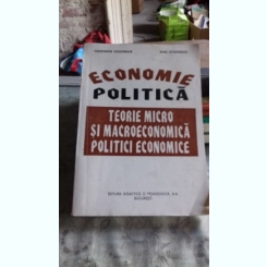 ECONOMIE POLITICA - CONSTANTIN GOGONEATA