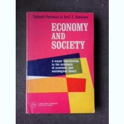ECONOMY AND SOCIETY - TALCOTT PARSONS  (CARTE IN LIMBA ENGLEZA)