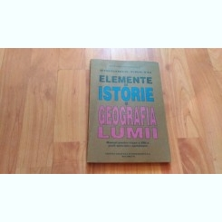 ELEMENTE DE ISTORIE SI GEOGRAFIA LUMII-VIRGINIA CRETU