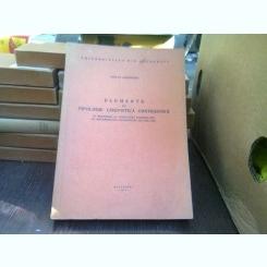 Elemente de tipologie lingvistica contrastiva - Mircea Gheorgiu