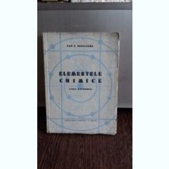 ELEMENTELE CHIMICE - DAN D. BEDELEANU