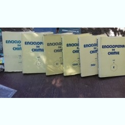 ENCICLOPEDIA DE CHIMIE    6 VOLUME