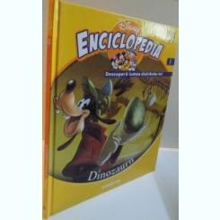 ENCICLOPEDIA DISNEY, DINOZAURII, VOL. III, EDITIE DE LUX, 2008