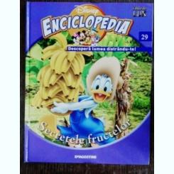 ENCICLOPEDIA DISNEY - SECRETELE FRUCTELOR NR 29