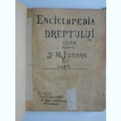 Enciclopedia dreptului - M. Juvara