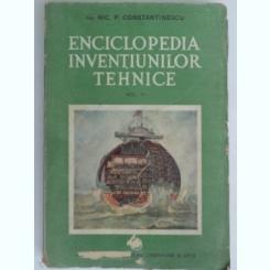 Enciclopedia inventiilor tehnice - Nic.P. Constantine  Vol.III