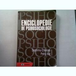 ENCICLOPEDIE DE PSIHOSOCIOLOGIE - SEPTIMIU CHELCEA