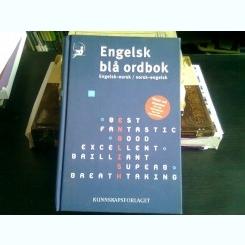 Engelsk Bla Ordbok: Engelsk-norsk/norsk-engelsk  (dictionar norvegian englez/englez novegian)