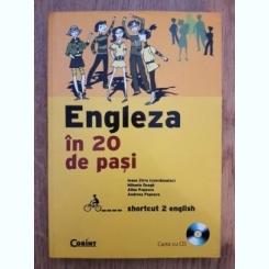 ENGLEZA IN 20 DE PADI - IOANA ZIRRA  (NU CONTINE CD)