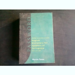 ENGLISH DICTIONARY FOR SPEAKERS OF PORTUGUESE - MARTIN FONTES